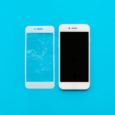 protéger l'écran de son portable avec un verre trempé